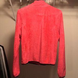 PINK Victoria's Secret Tops - VS PINK Teddy Fleece Zip Up Sweatshirt